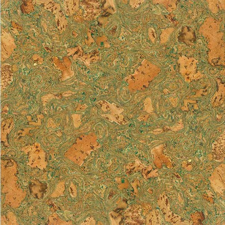 GRANORTE настенное пробковое покрытие Twist Green