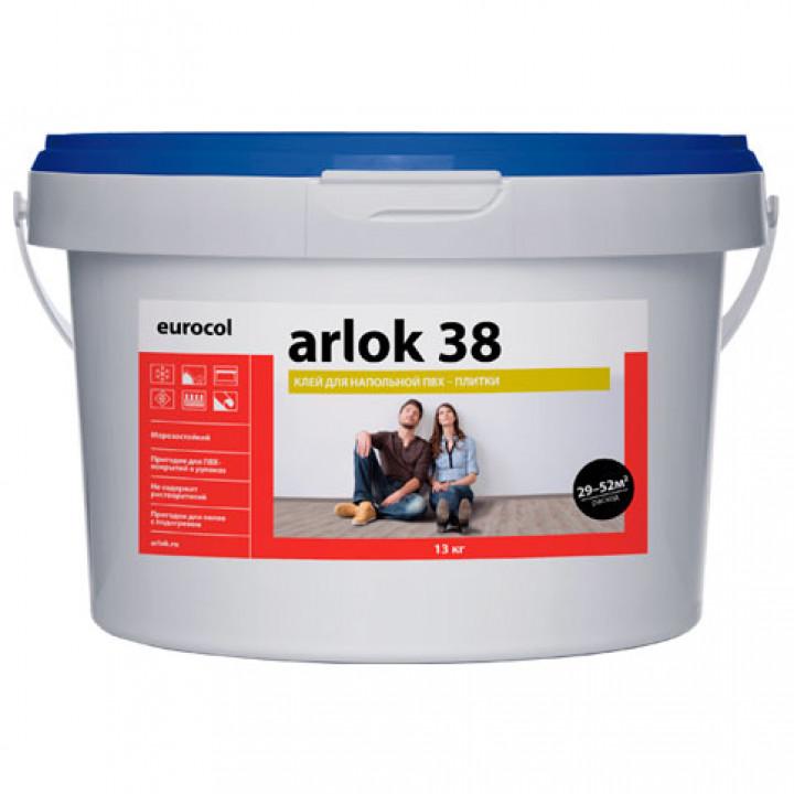 Arlok 38 Клей для напольной ПВХ-плитки (LVT)