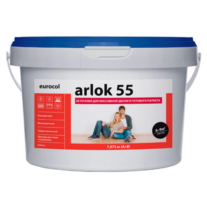 Arlok 55 2K PU Клей для массивной доски и готового паркета