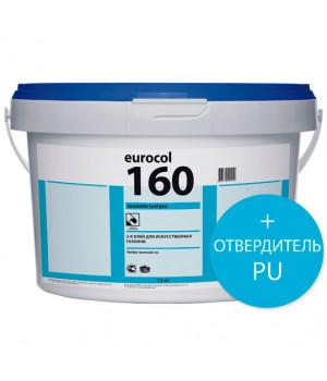 Forbo Eurocol 160 Kunstrasenklebstoff 2-компонентный полиуретановый клей