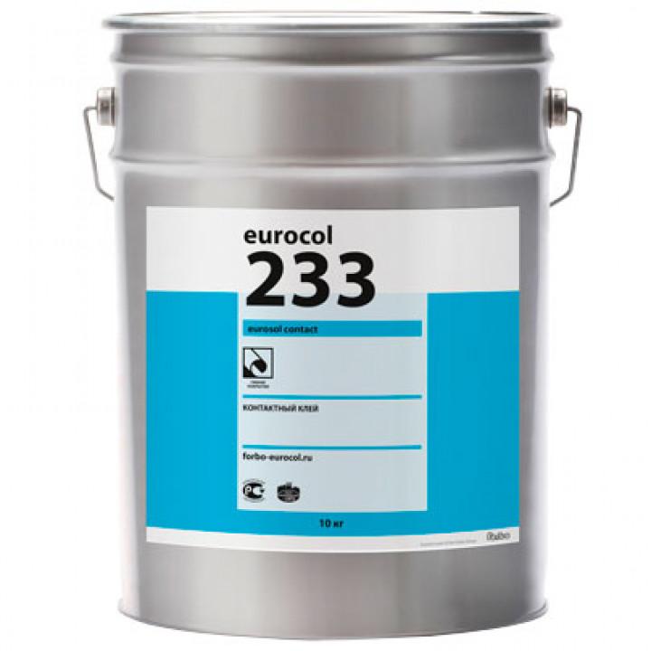 Forbo Eurocol 233 Eurosol Contact Контактный клей с высокой начальной клеящей способностью