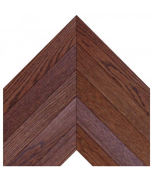 Woodstyle parquet французская ёлка 9 Махагон