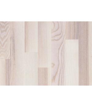 Focus Floor паркетная доска Ясень Мистраль белый матовый трёхполосный