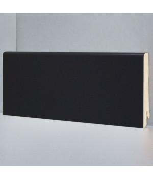 Deartio чёрный плинтус U101-Black