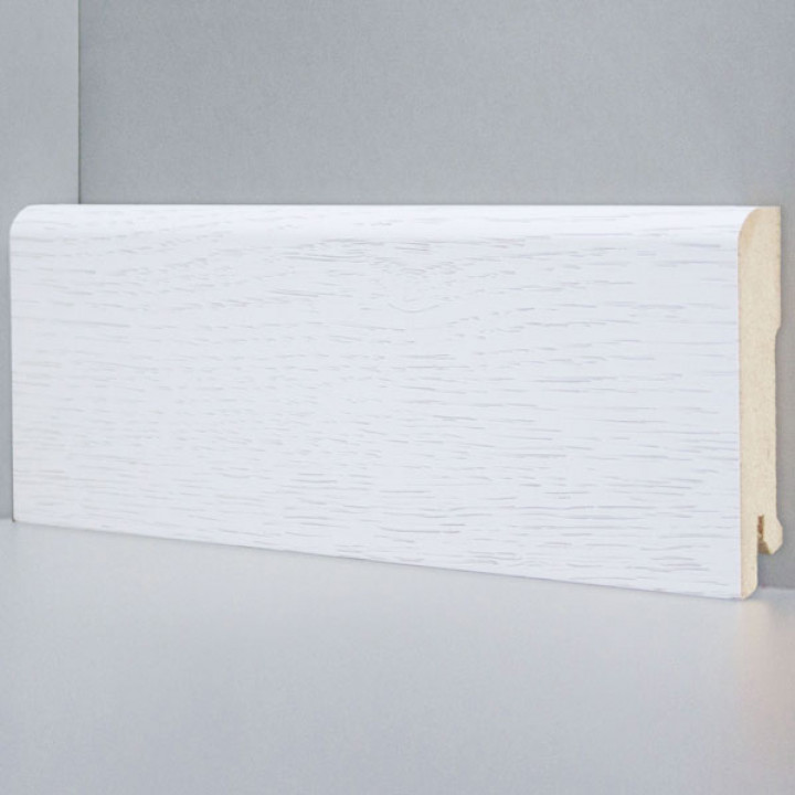 Deartio плинтус Дуб бело-серый B202-04
