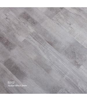 Betta Studio каменно полимерный SPC ламинат S202 Дуб Затертый Серый